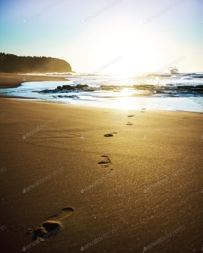 My barefoot travels!
