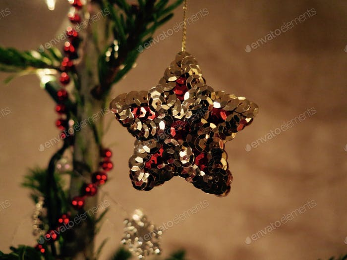 star christmas tree decoration