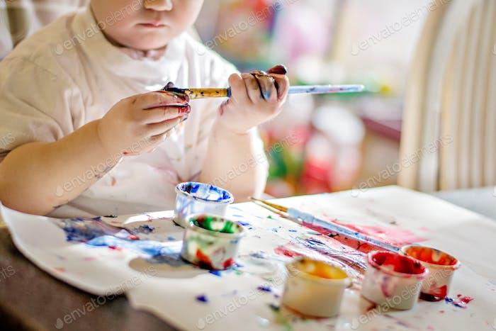 🌟 Nominiert 🌟 Baby-Malerei. Sinnliche Erfahrung. Kunst und Handwerk