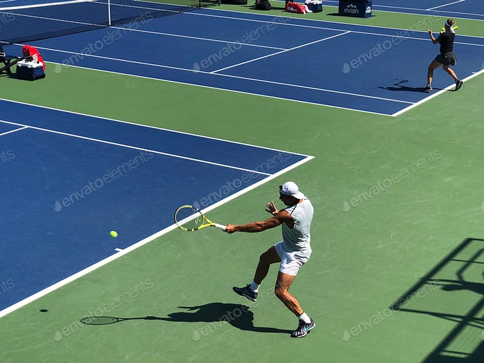 In Motion - Rafael Nadal at the US Open