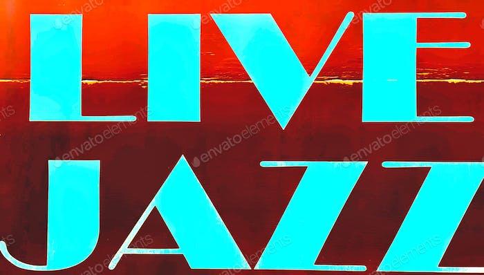 "Music  ""Live Jazz"""