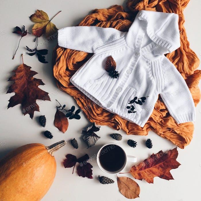 Fall flatlay