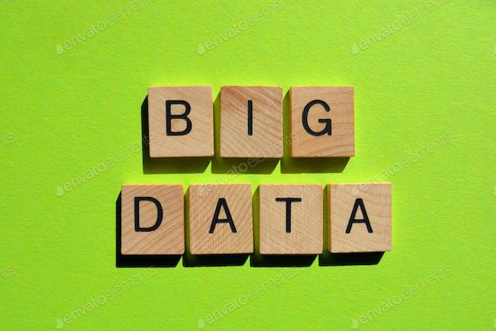 Big Data como titular del banner