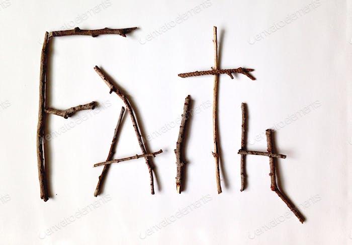 Klebriger Glaube
