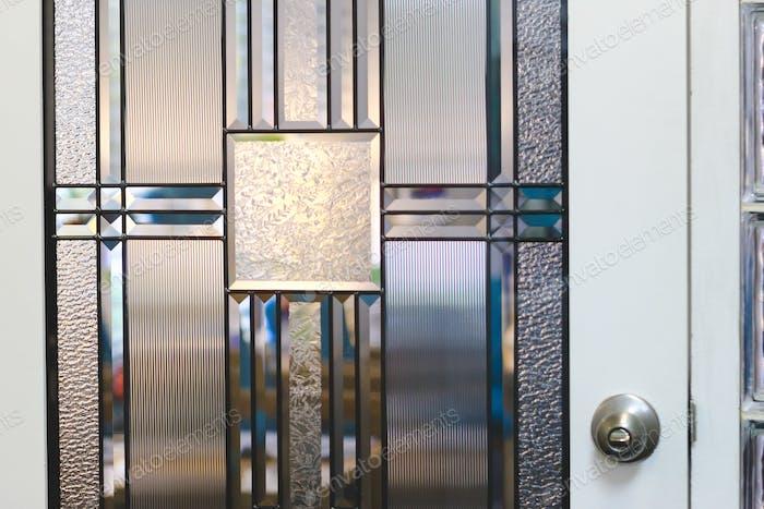 Glass Door Detail