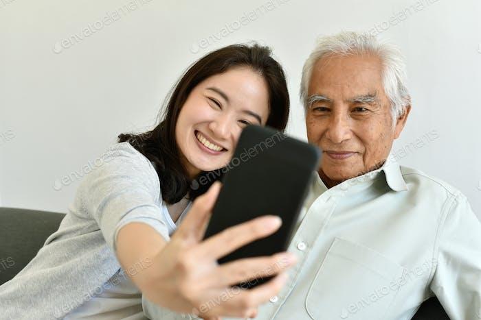 Asian family relationship