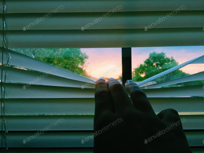 Peek at sunrise
