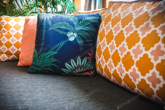 outdoor seating, couch and cushions