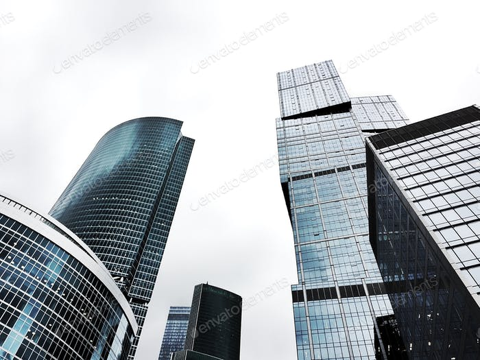 """Buildings """"Moscow city"""""""