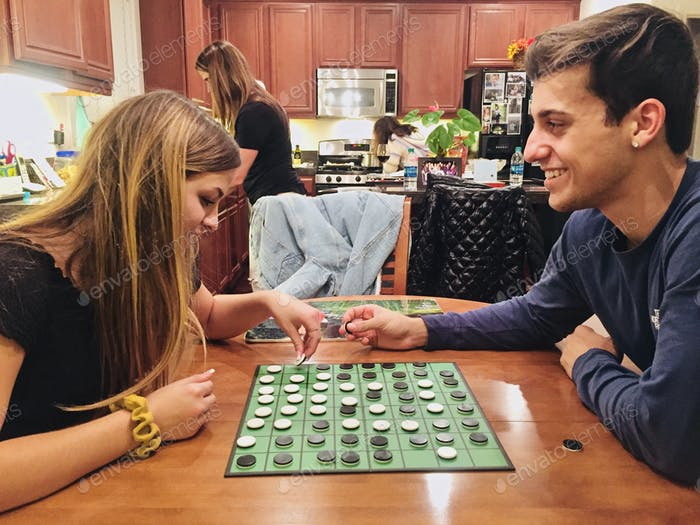 Game nights are always full of laughter, smiles and fun! Tonythetigersson Tony Andrews Photography