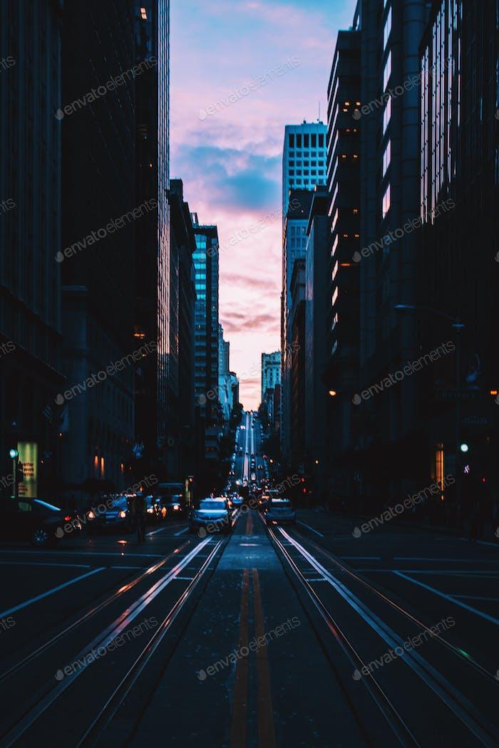 Busy Cali Street