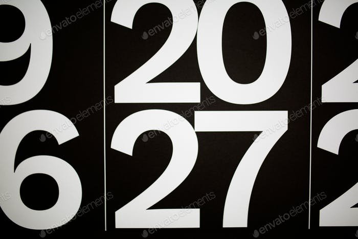 the number 20, 27