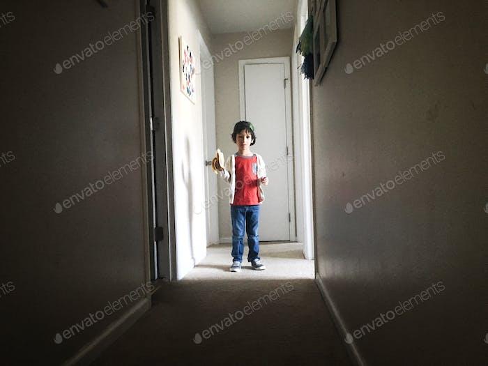 Cool dude before school