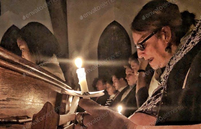 Christmas Candlelight Worship Celebration    Nominated🙏🌹🙏