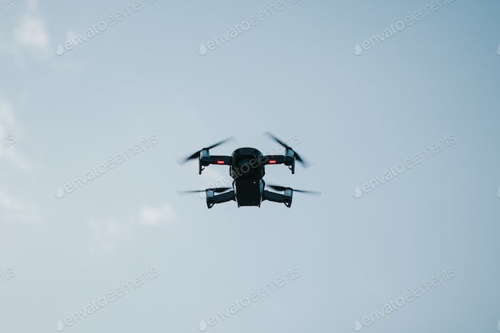 Drone in the air