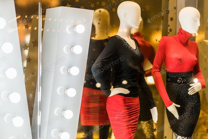 Mannequins, fashion