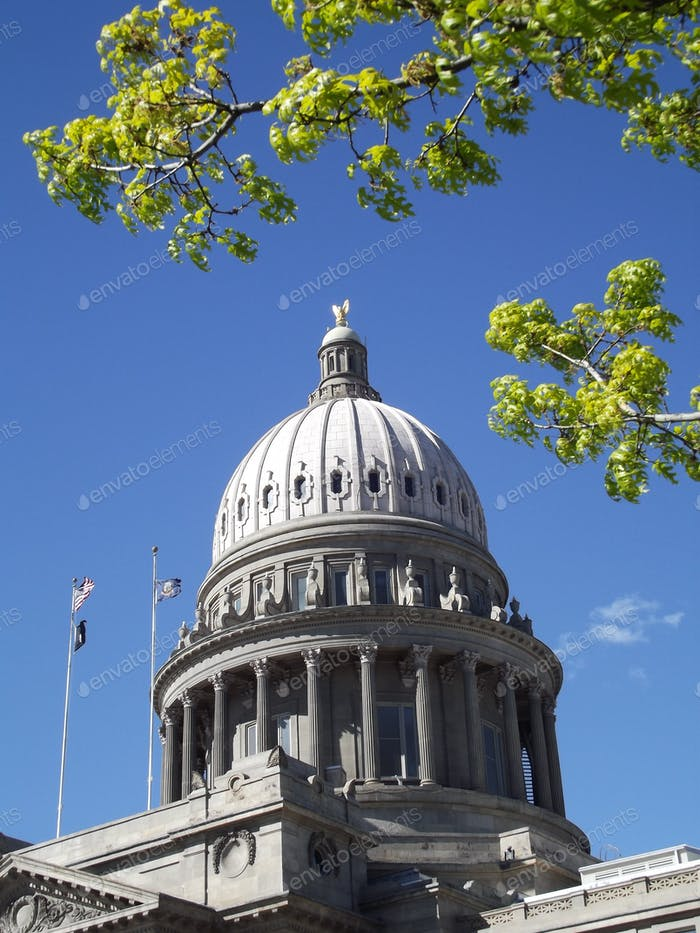Capitol building in Boise, Idaho