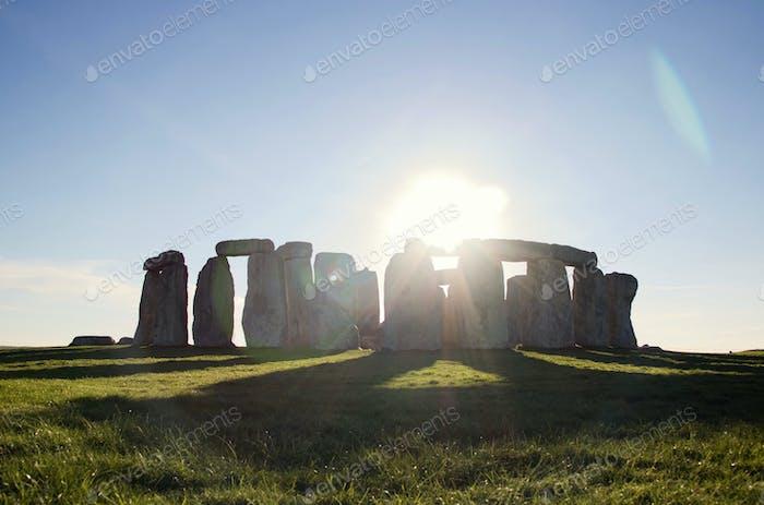 Stonehenge Monument, England.