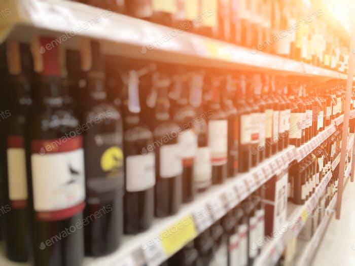 Beverage shelf