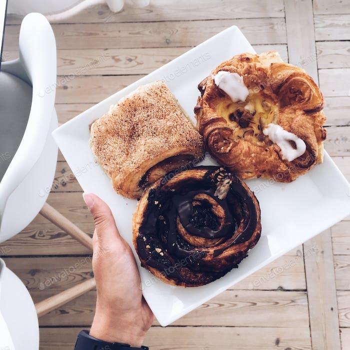 Danish pastry.