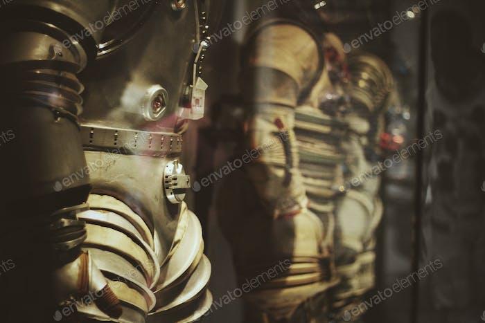 Astronauts dress