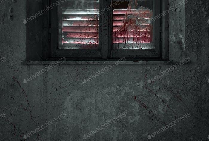 Blut an der Wand - Tatort