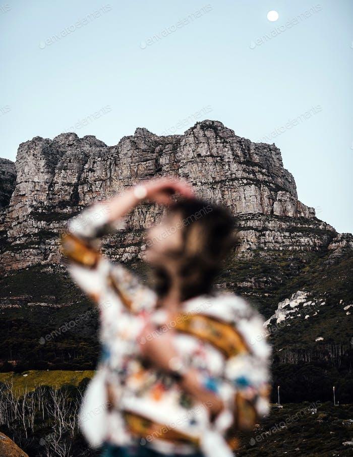 Exploring Cape Town.