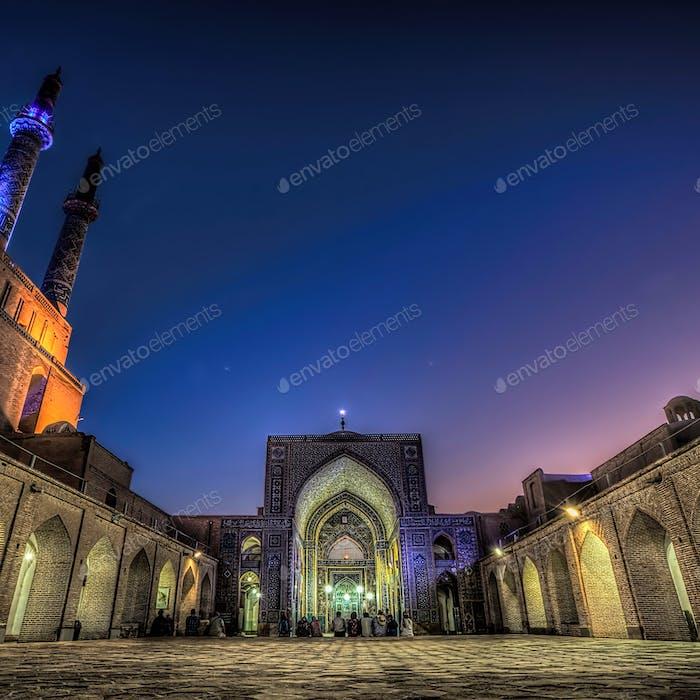 Blue Hour Mosque