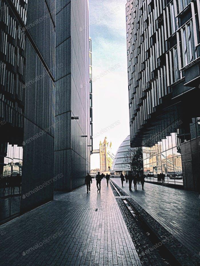Street. London, England