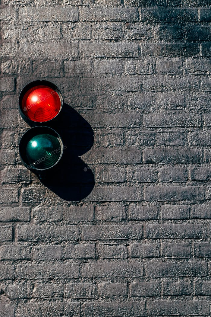 Red and green signal