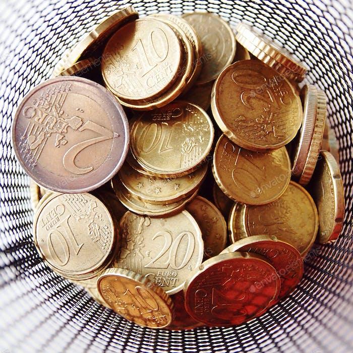 My savings.