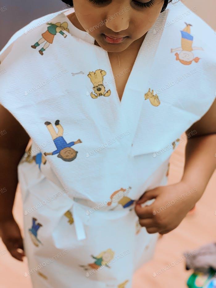 Jährlich Gesundheitsbesuch und Arztbesuch und Besuch bei Kindern