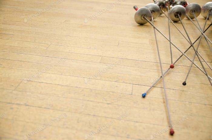 Fencing class