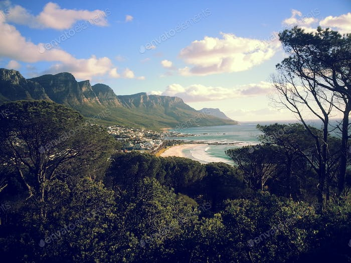 mountains cape town beauty