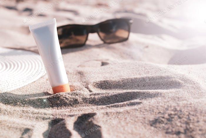 sonnenschutz schönheit sonnenschutz am strand