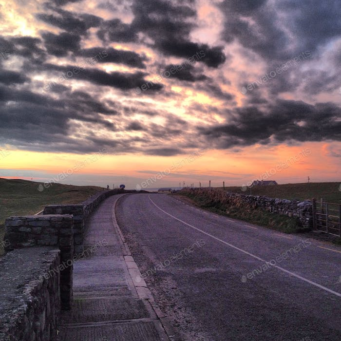 In the road - Ireland