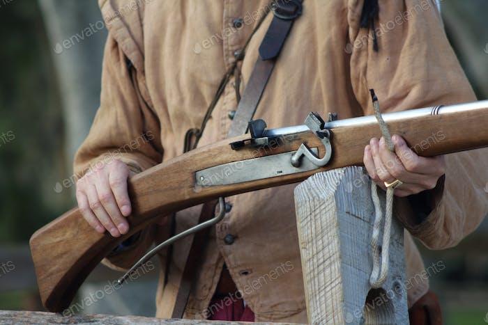 Old gun and gun control
