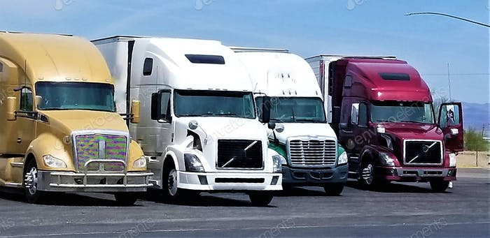 Trucking! Big Rigs!