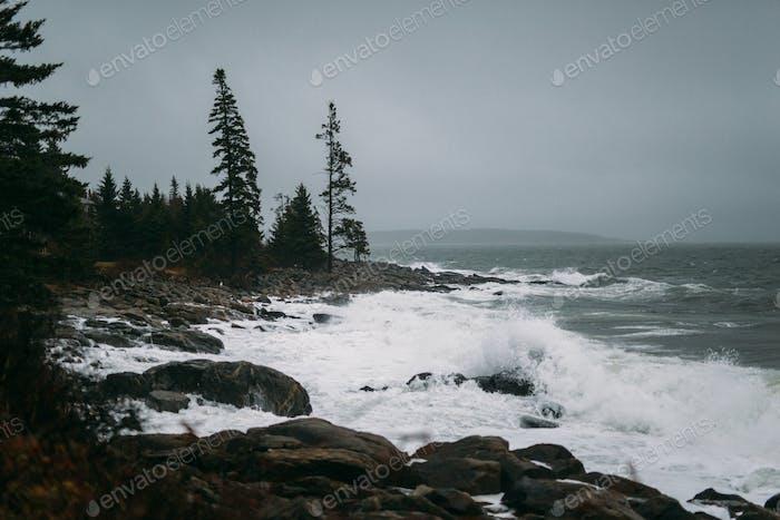 Stormy Sea.