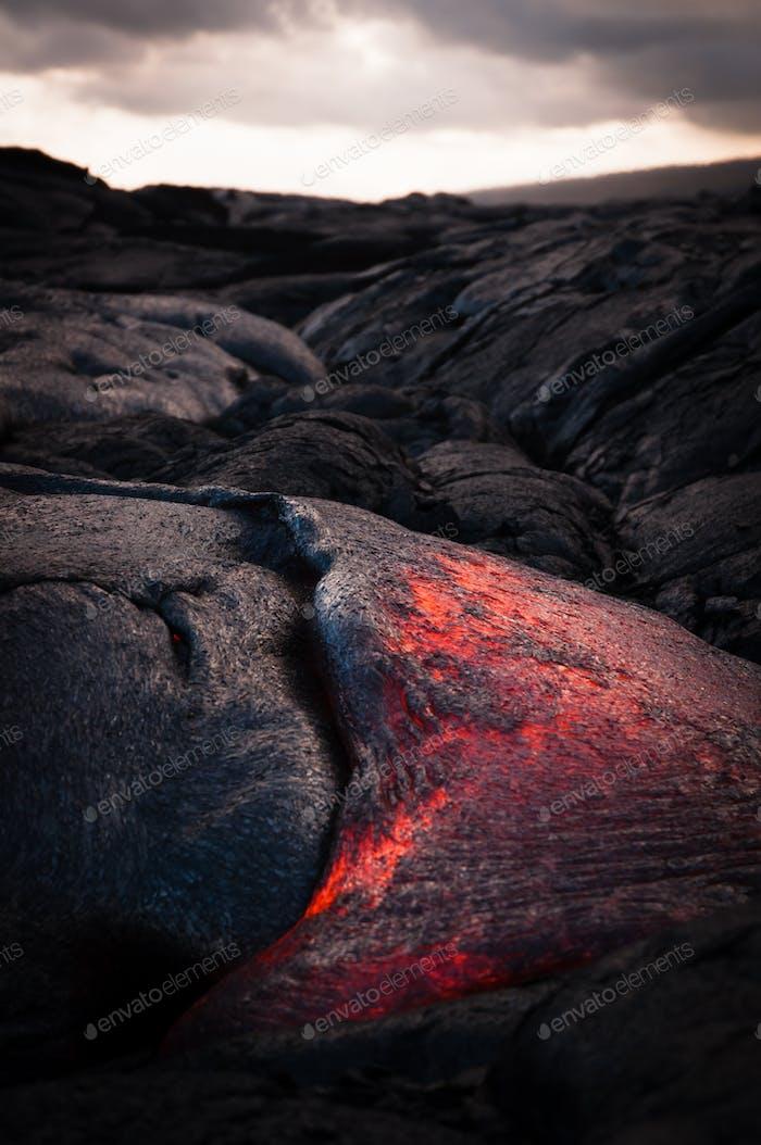 Lava-Fluss