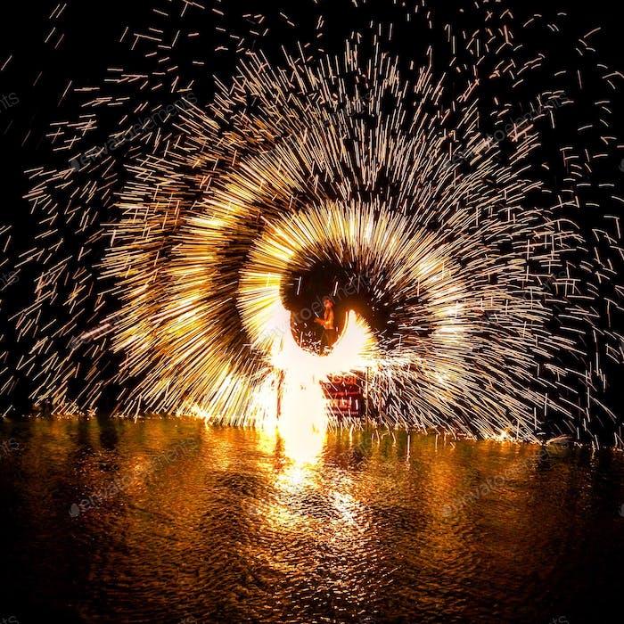 Sparks fly tonight
