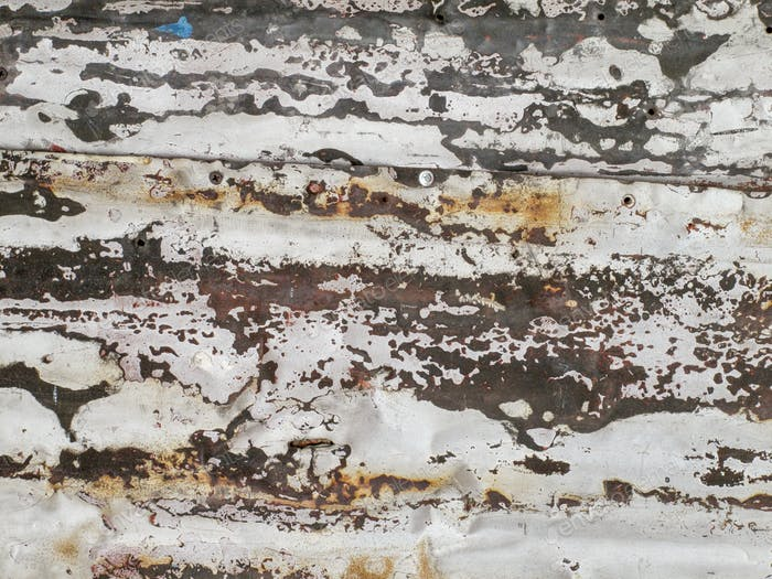 Rough and Rusty Metal Background
