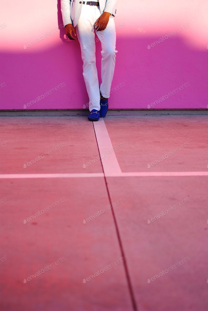 Famous Pink Wall.