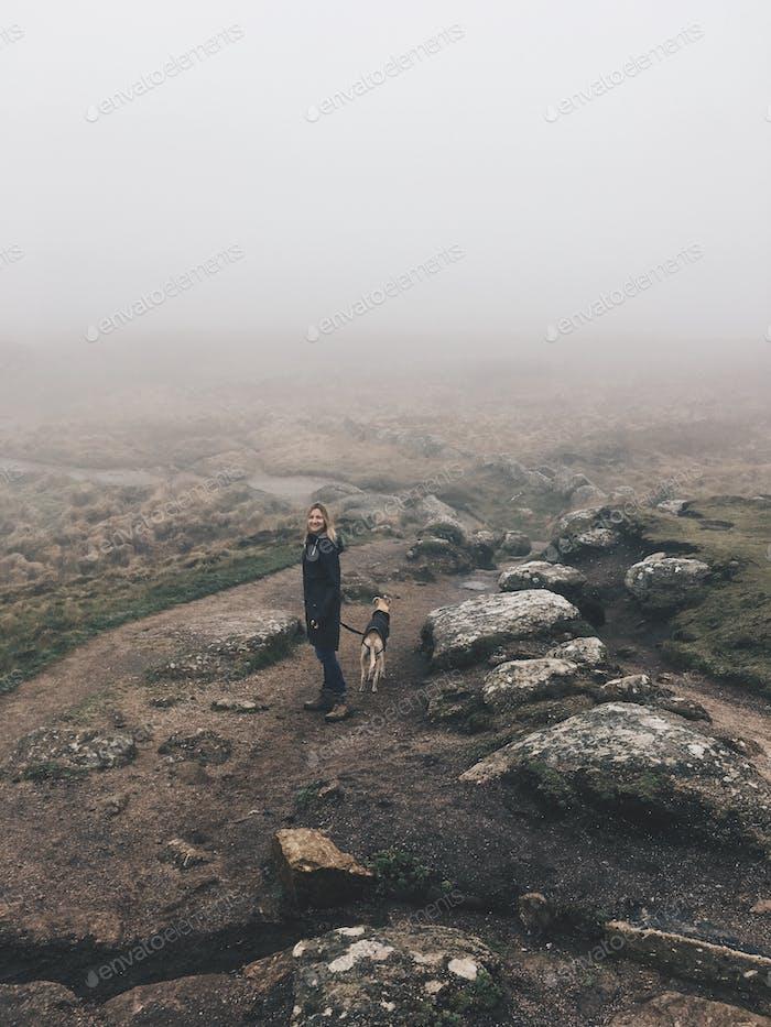 Foggy Coastal Hike