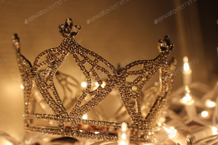 Crowns aren't made of rhinestones, they are made of discipline, determination, and dedication