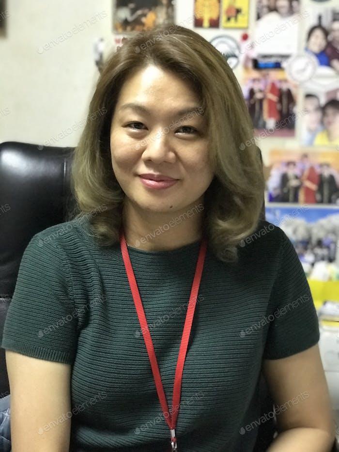 Mujer de carrera