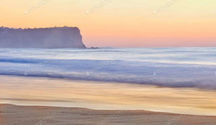 Beach landscape with space for copy