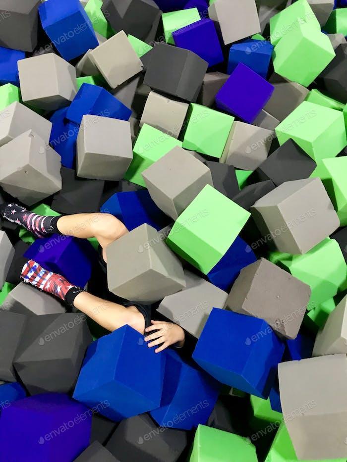 Fun in the blocks