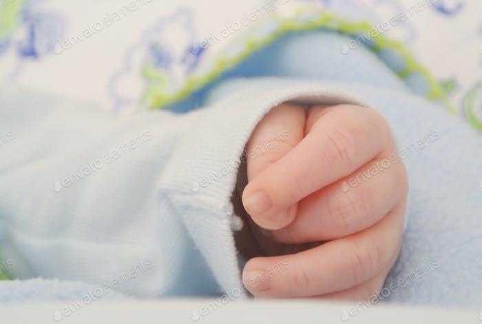 Little child hand