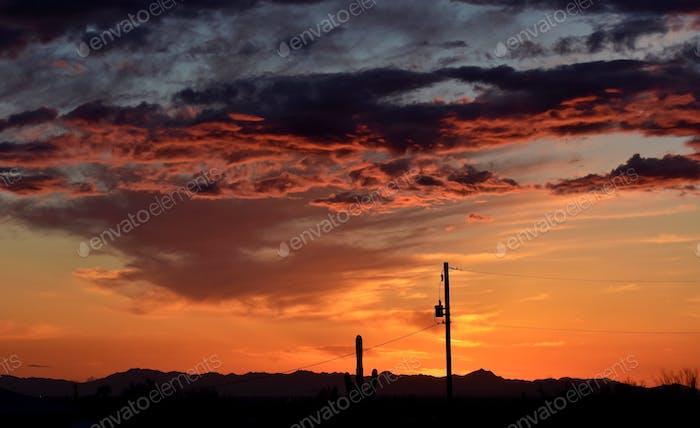 Beautiful Arizona Cloudscape